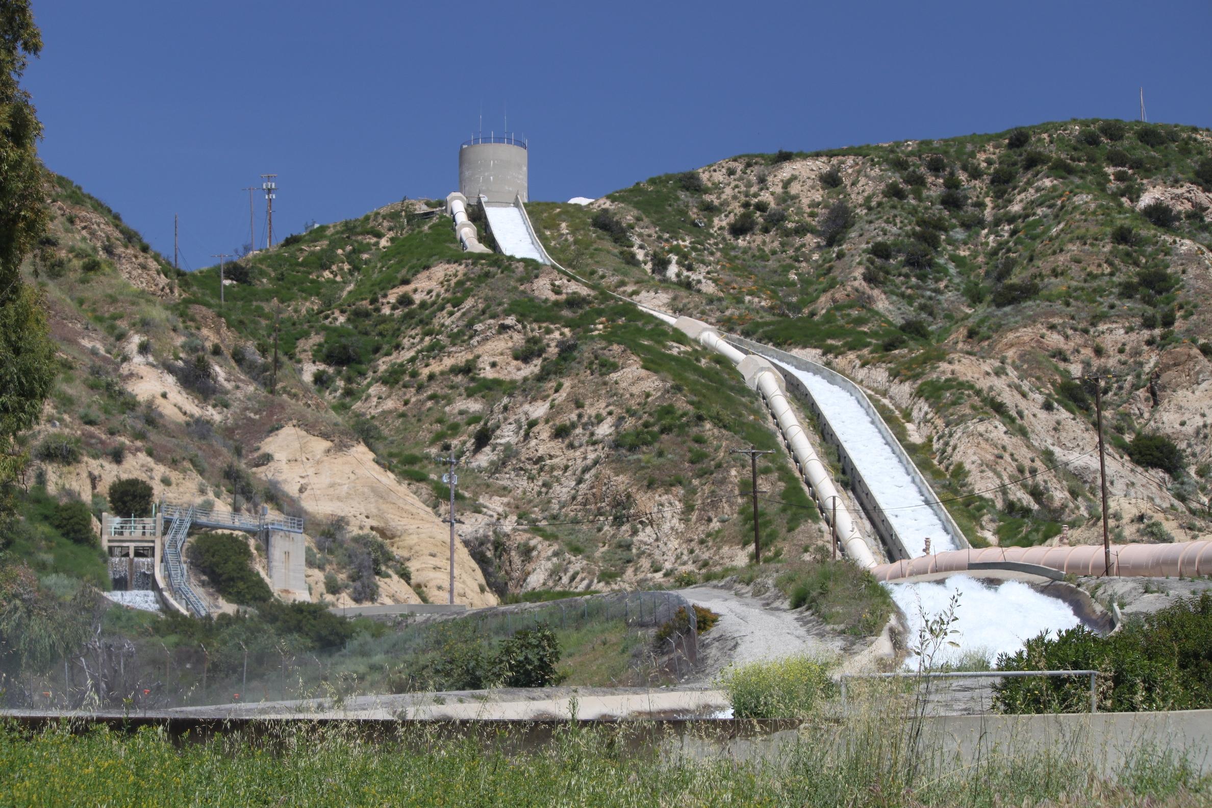Los Angeles Aqueduct Cascades Facility | Maven's Photoblog