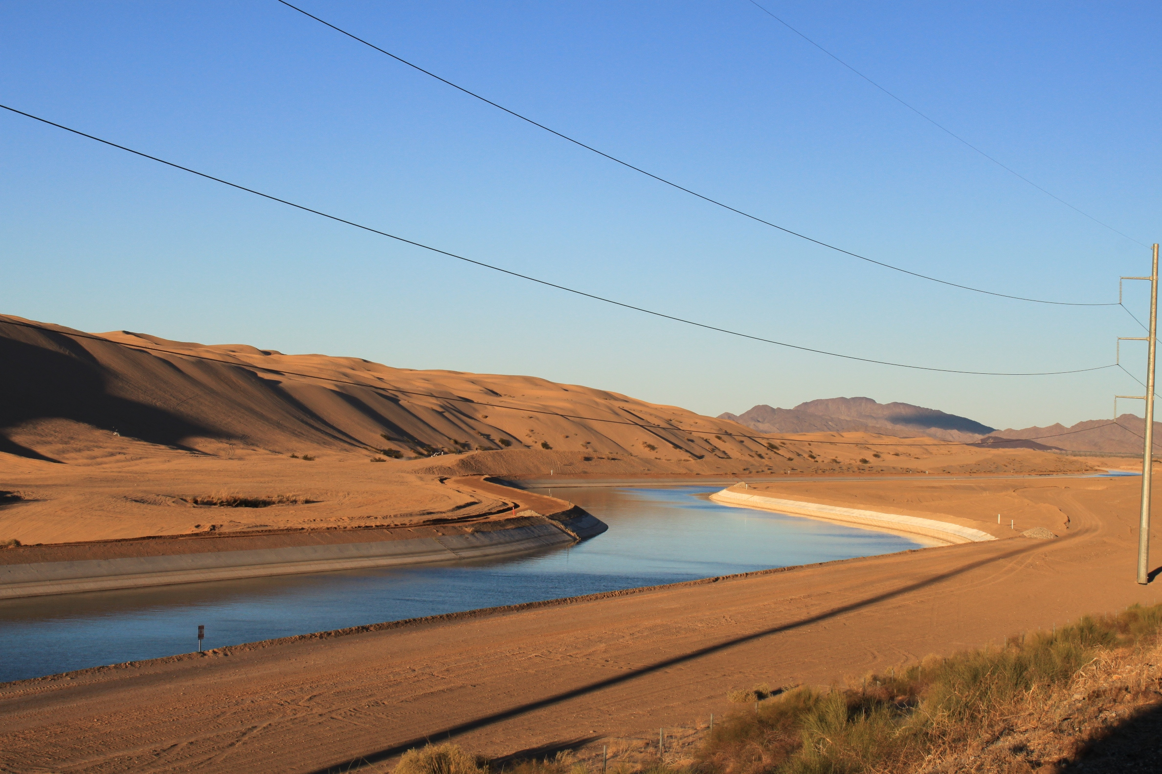 All American Canal : Photo tour of the imperial valley most productive