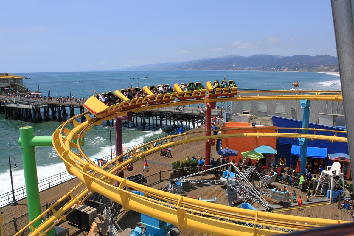 Pacific Park Is The Name Of Amut On Santa Monica Pier And Features Rides For S Younger My Liked Roller Coaster