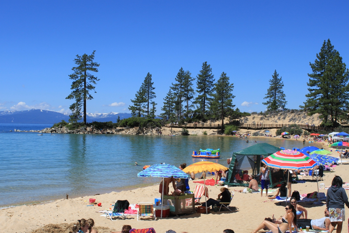 Lake Tahoes Sand Harbor One of Tahoes best beaches Mavens