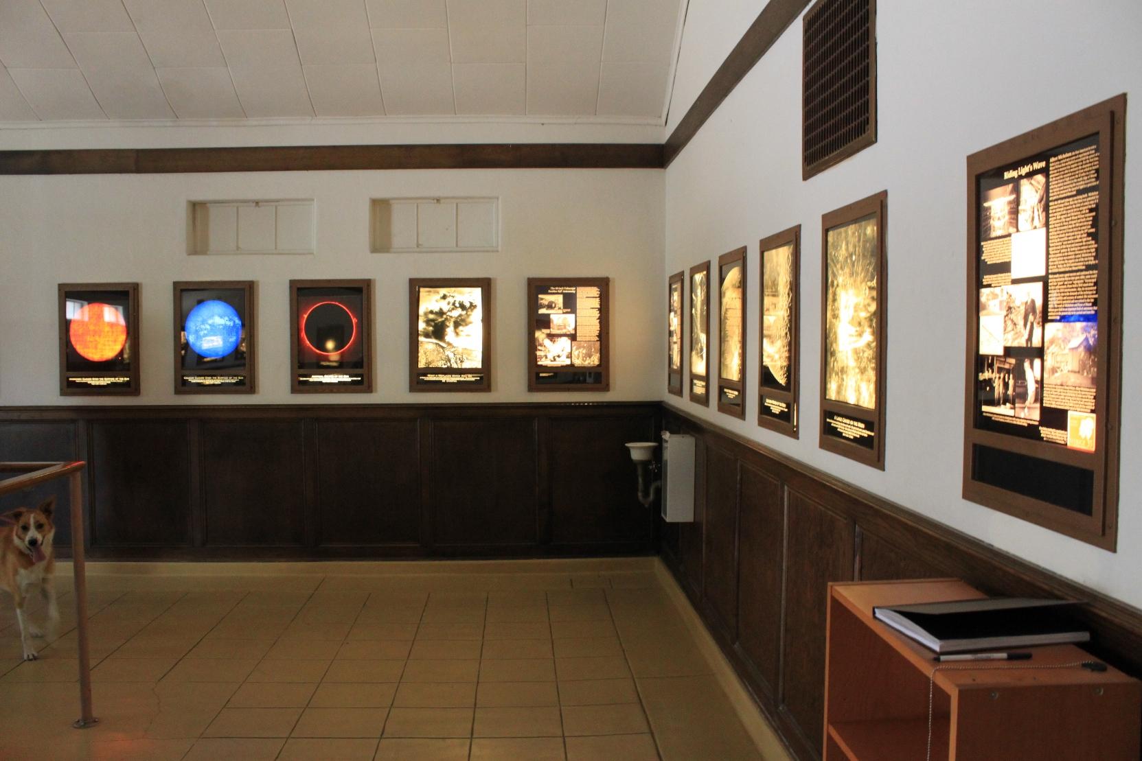 Mt. Wilson Museum Interior