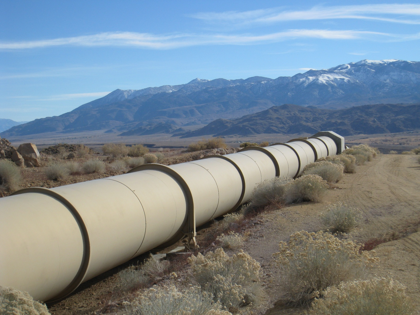 Southern California's first water project: The Los Angeles ...
