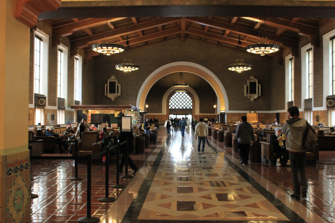 Union Station Los Angeles Last Of The Great Railway