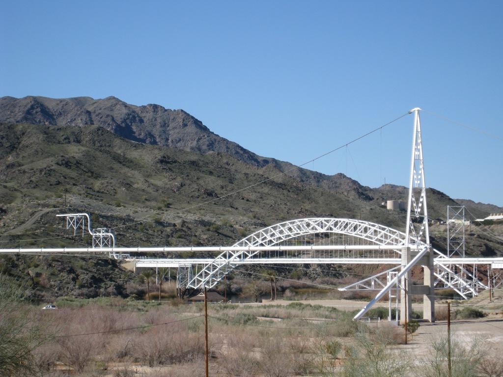 Pipeline River Crossing Pipeline Crossing Colorado