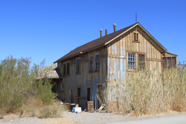 Keeler train depot Apr 2012 #1