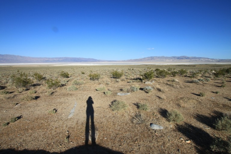 Apr 2012 Self portrait at Owens Lake