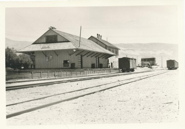 HILD 87b--Keeler Railroad Station date unk