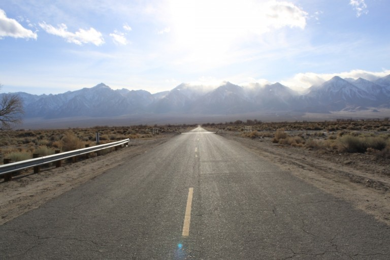 Mazourka Canyon Road, Owens Valley, Mar 2012