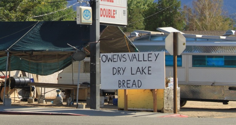 Owens Lake Dry Bread