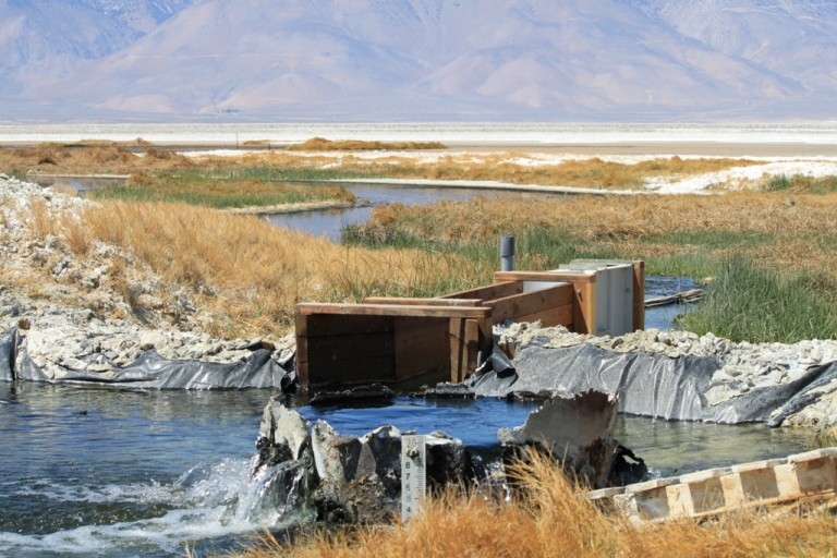 Owens Lake at Sulfate Well Apr 2012 #2