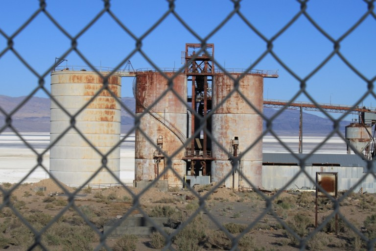 Owens Lake plate glass factory Apr 2012 #12