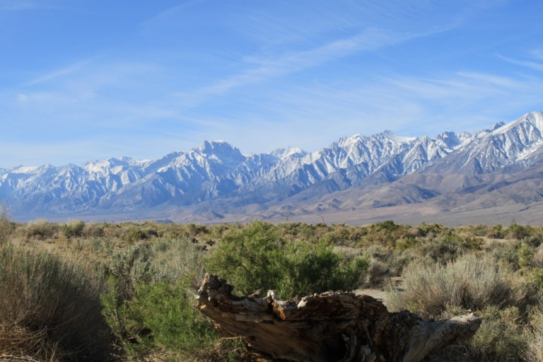 Owens Valley by the Los Angeles Aqueduct intake Apr 2012 #4