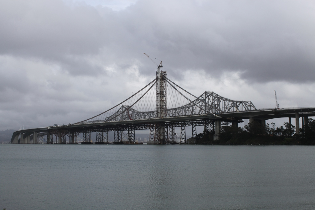 Bay Bridge under construction Dec 2012 #1