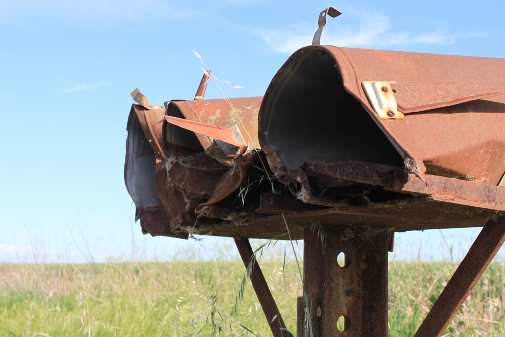 Sacramento Valley - Rusty Mailboxes Apr 2013 #3