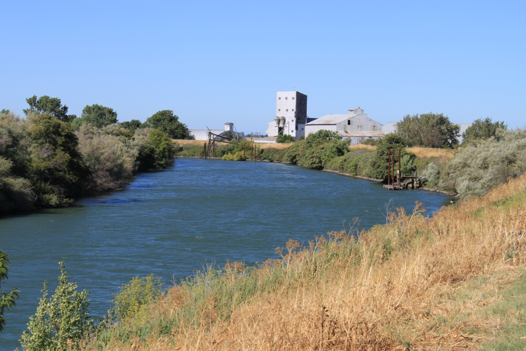 Old mill in the Delta July 2013 #1