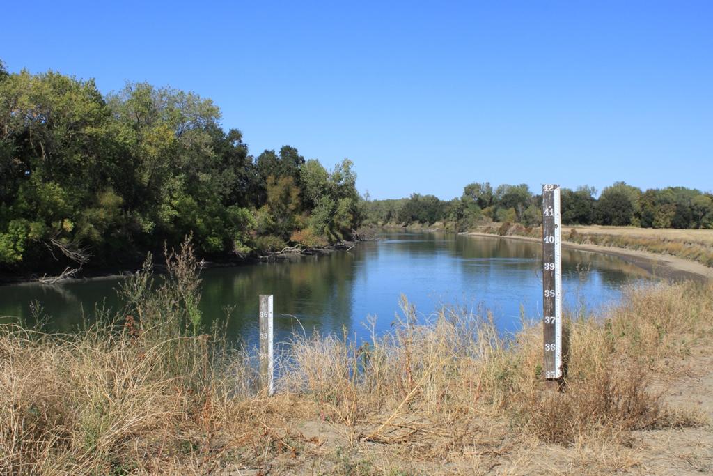 Fremont Weir - dry Oct 2013 #2