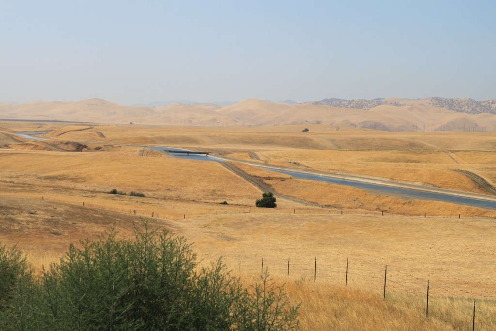 California Aqueduct Newman Vista Point July 2015 #2