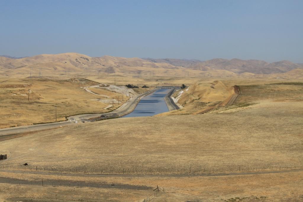 California Aqueduct Newman Vista Point July 2015