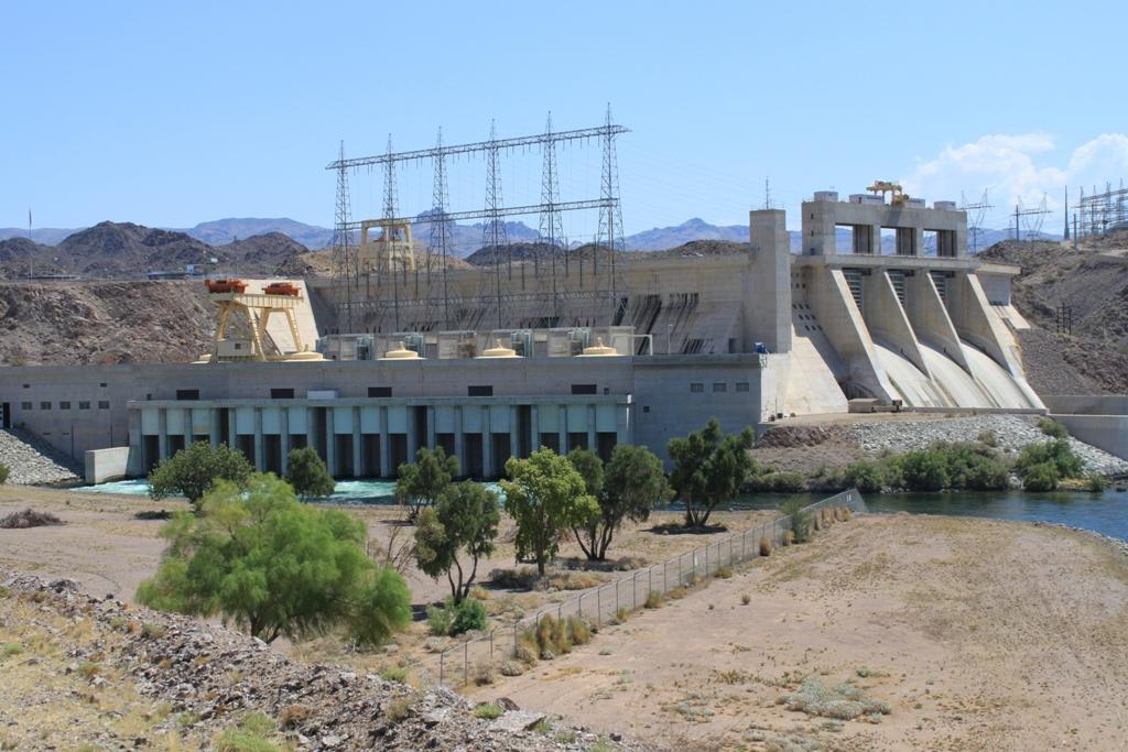 Davis Dam Aug 2012 #1